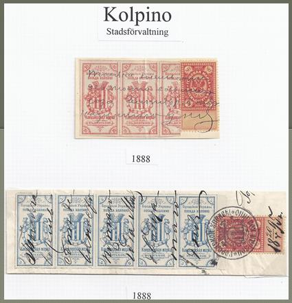 Kolpino revenues from Faberge's collection